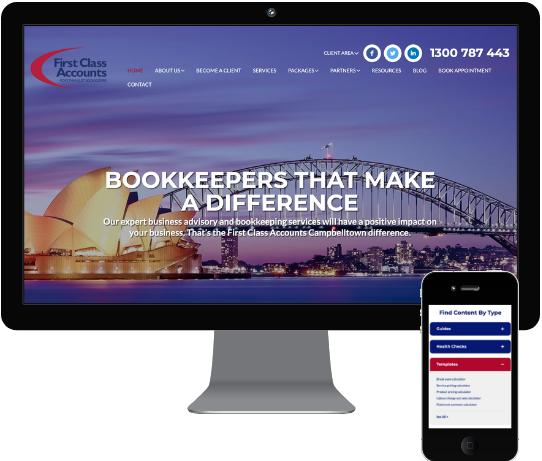 First Class Accounts Campbelltown