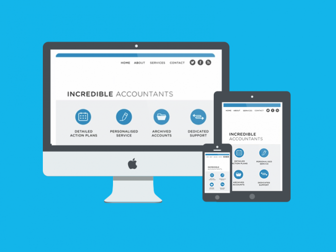 Mobile Website Design for Accountants