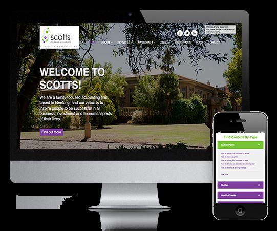 Scotts CA website