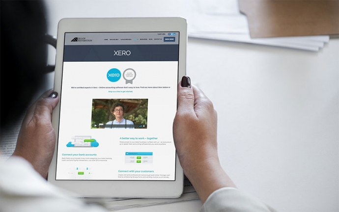 Xero Partner Website