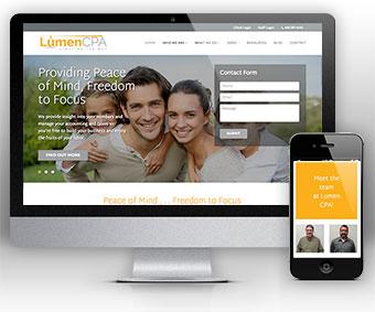 Lumen - Website for Accountants by Bizink